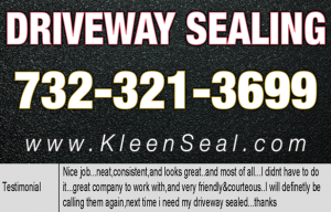 Kleen Seal Reviews Driveway Sealing Kendall Park 08824