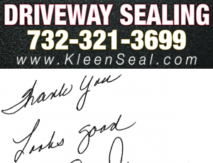Kleen Seal Reviews Driveway Sealing Spotswood 08884