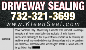 Kleen Seal Reviews Driveway Sealing Summit 07901