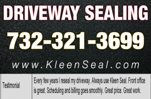 Kleen Seal Reviews Sealcoating Carteret 07008