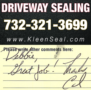 Kleen Seal Reviews Sealcoating Perth Amboy 08861