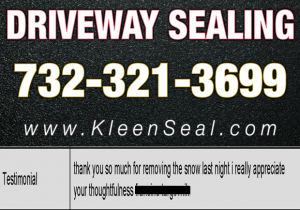 Kleen Seal Reviews Sealcoating Plainfield 07060