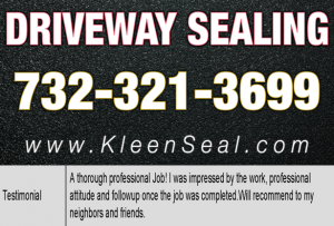 Kleen Seal Reviews Sealcoating Sewarren 07077
