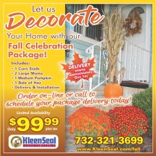 Kleen Seal Fall Celebration Ad